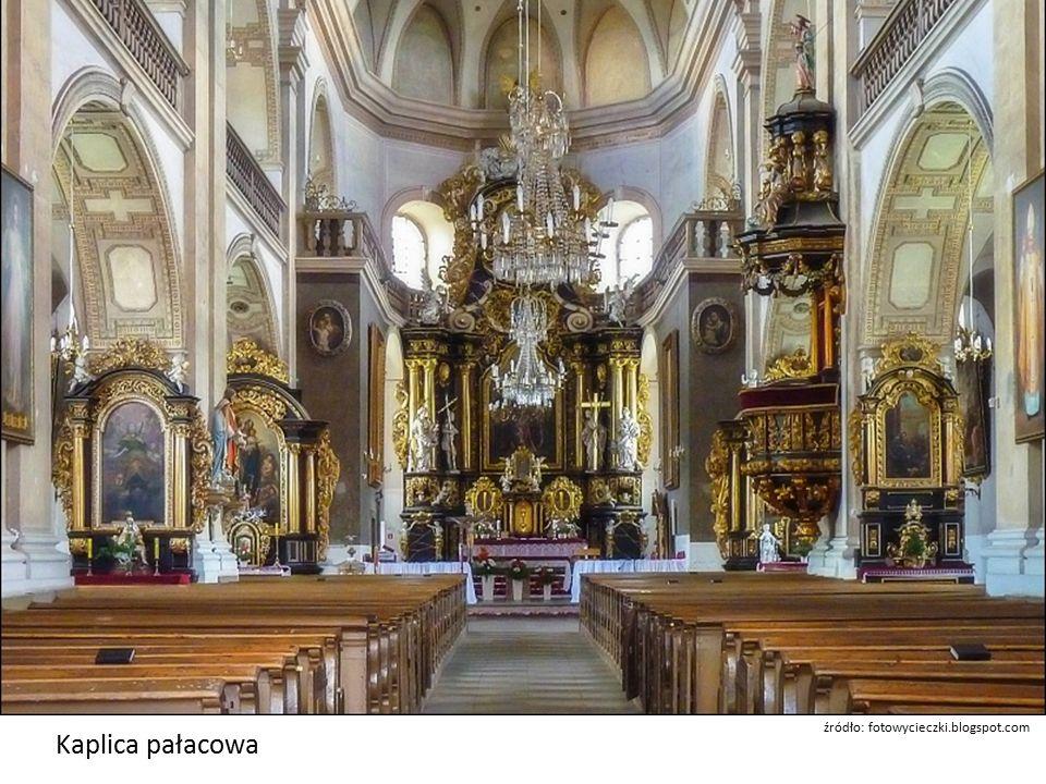 Kaplica pałacowa źródło: fotowycieczki.blogspot.com