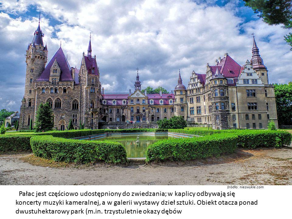 Pałac jest częściowo udostępniony do zwiedzania; w kaplicy odbywają się koncerty muzyki kameralnej, a w galerii wystawy dzieł sztuki.