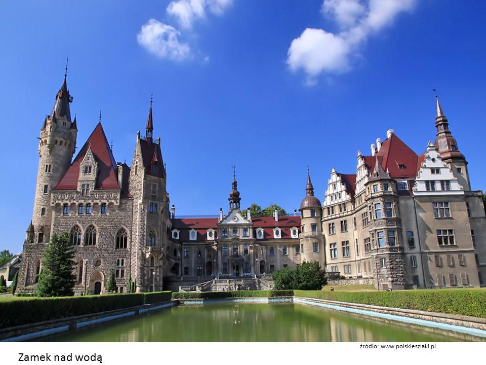 Zamek nad wodą źródło: www.polskieszlaki.pl