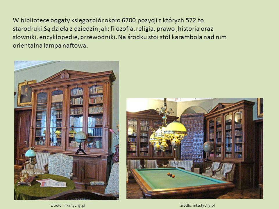 W bibliotece bogaty księgozbiór około 6700 pozycji z których 572 to starodruki.Są dzieła z dziedzin jak: filozofia, religia, prawo,historia oraz słown