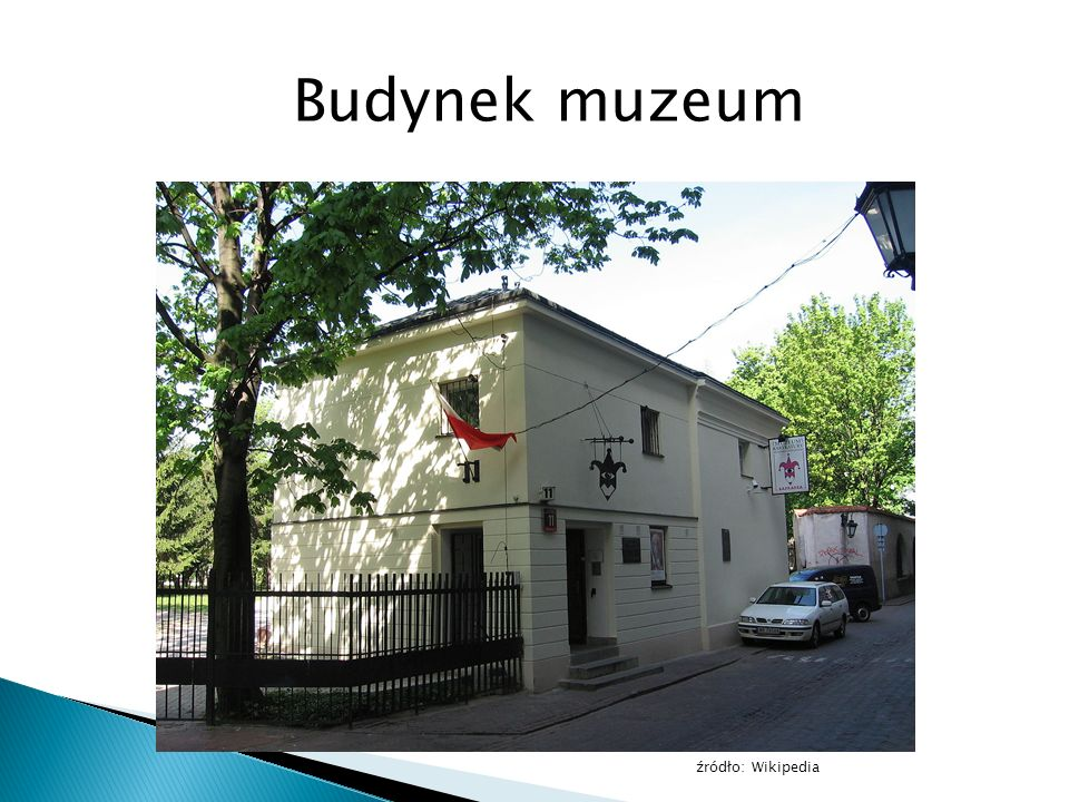 Budynek muzeum źródło: Wikipedia