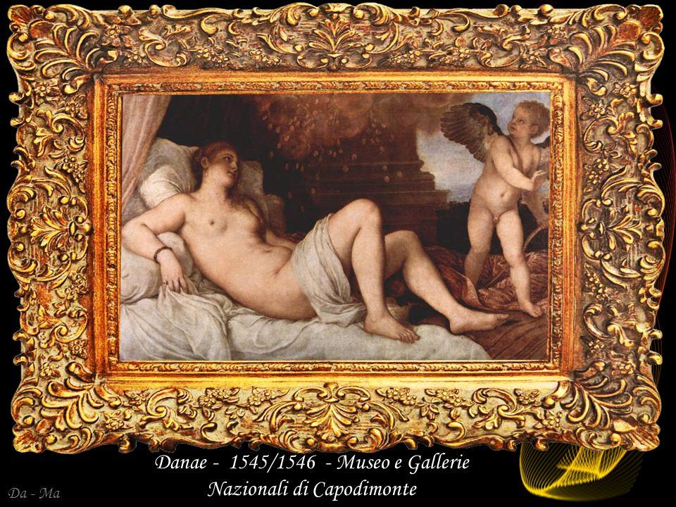 Da - Ma Jupiter i Antiope (Venus z Pardo) 1542 Louvre Paryż