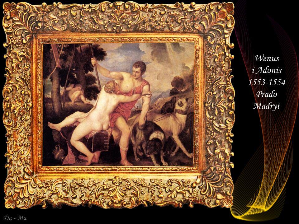 Da - Ma Wenus i Kupidyn - 1550 Galleria degli Uffizi