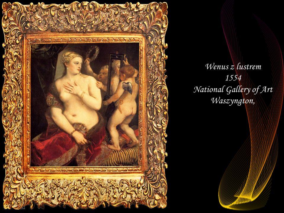 Da - Ma Wenus i Adonis 1553-1554 Prado Madryt