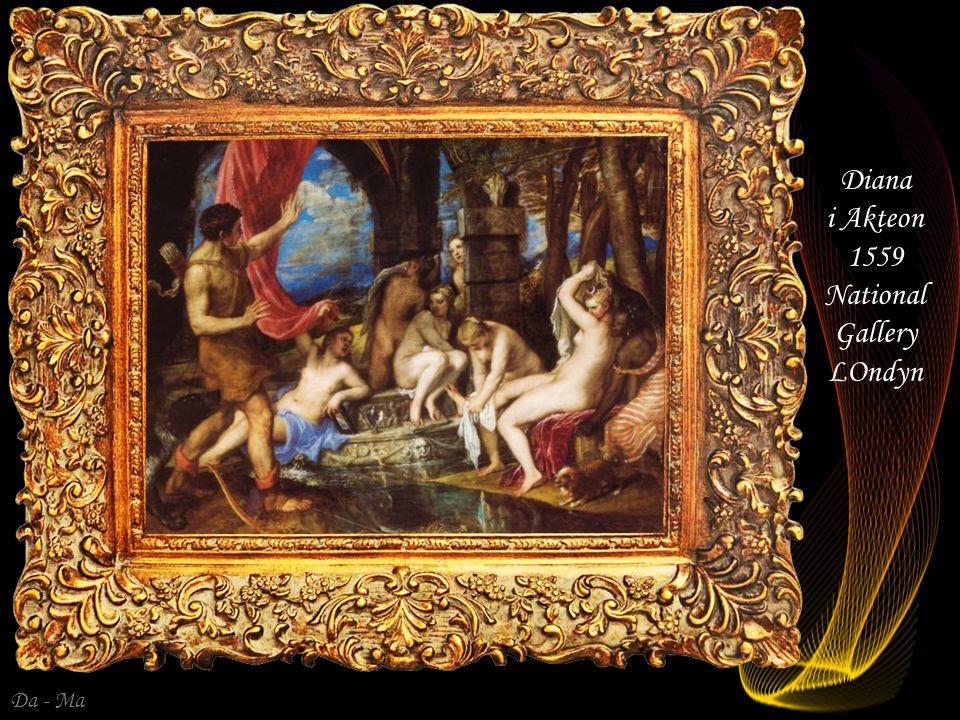 Da - Ma Danae 1553/1554 Prado Madryt