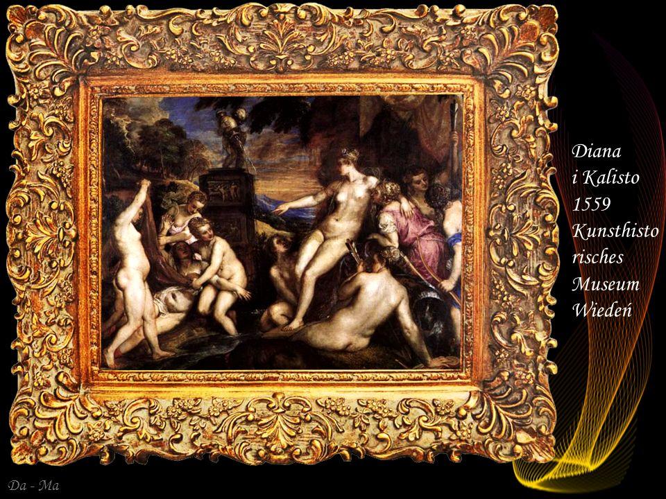 Da - Ma Diana i Akteon 1559 National Gallery LOndyn