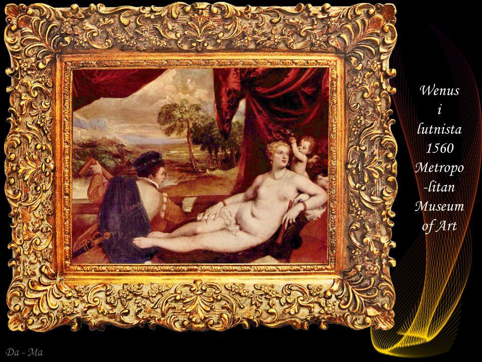 Da - Ma Diana i Kalisto 1559 Kunsthisto risches Museum Wiedeń