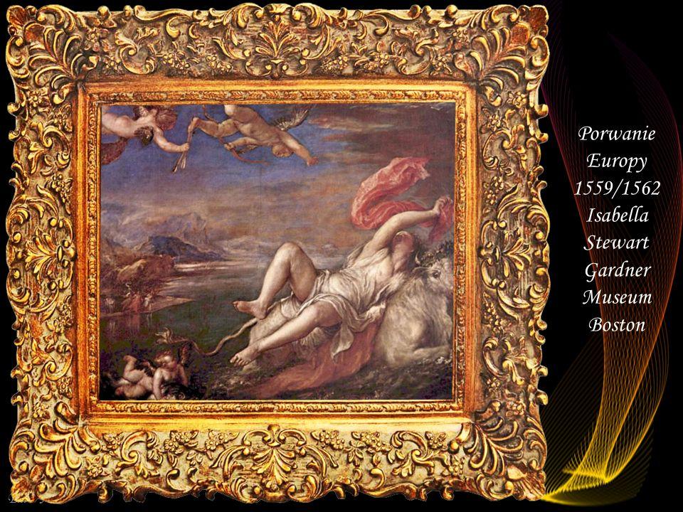 Da - Ma Śmierć Akteona 1559/1560 National Gallery Londyn