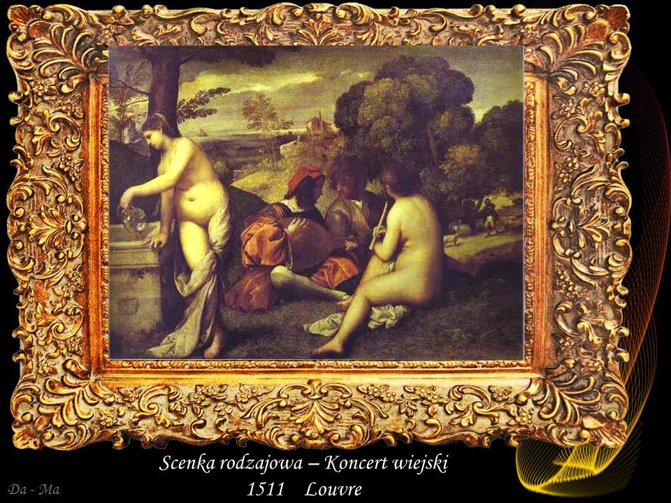 Da - Ma Alegoria Trzy okresy życia człowieka 1511 - Zbiory prywatne