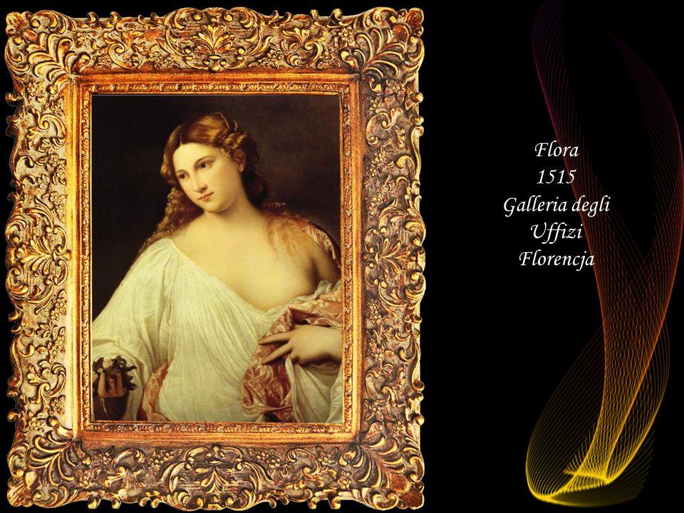 Da - Ma Alegoria Miłość niebiański i miłość ziemska (fragment) 1514 Galeria Borghese Rzym