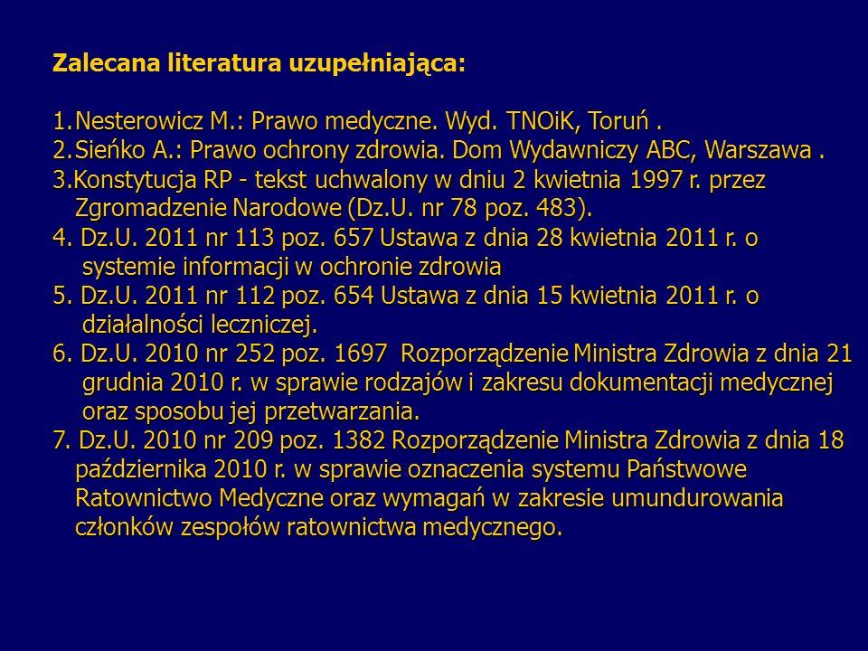 8.Dz.U. 2009 nr 52 poz. 417 Ustawa z dnia 6 listopada 2008 r.