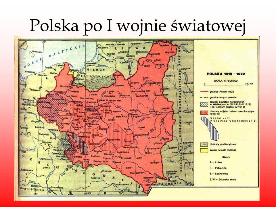 Polska po I wojnie światowej
