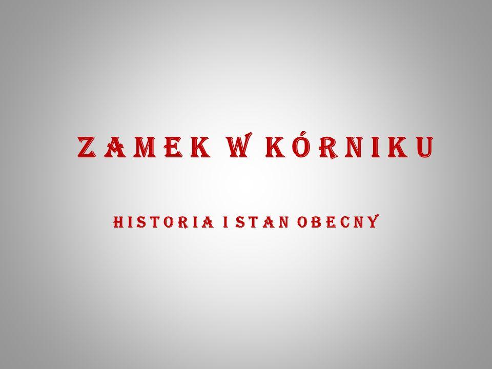 REKONSTRUKCJA ZAMKU Z XV WIEKU H I S T O R I A P ierwotny zespół obronny w Kórniku zbudowano prawdopodobnie w czwartej ćwiartce XIV wieku.
