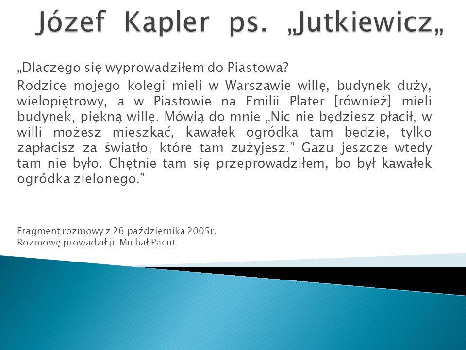 """""""Dlaczego się wyprowadziłem do Piastowa."""