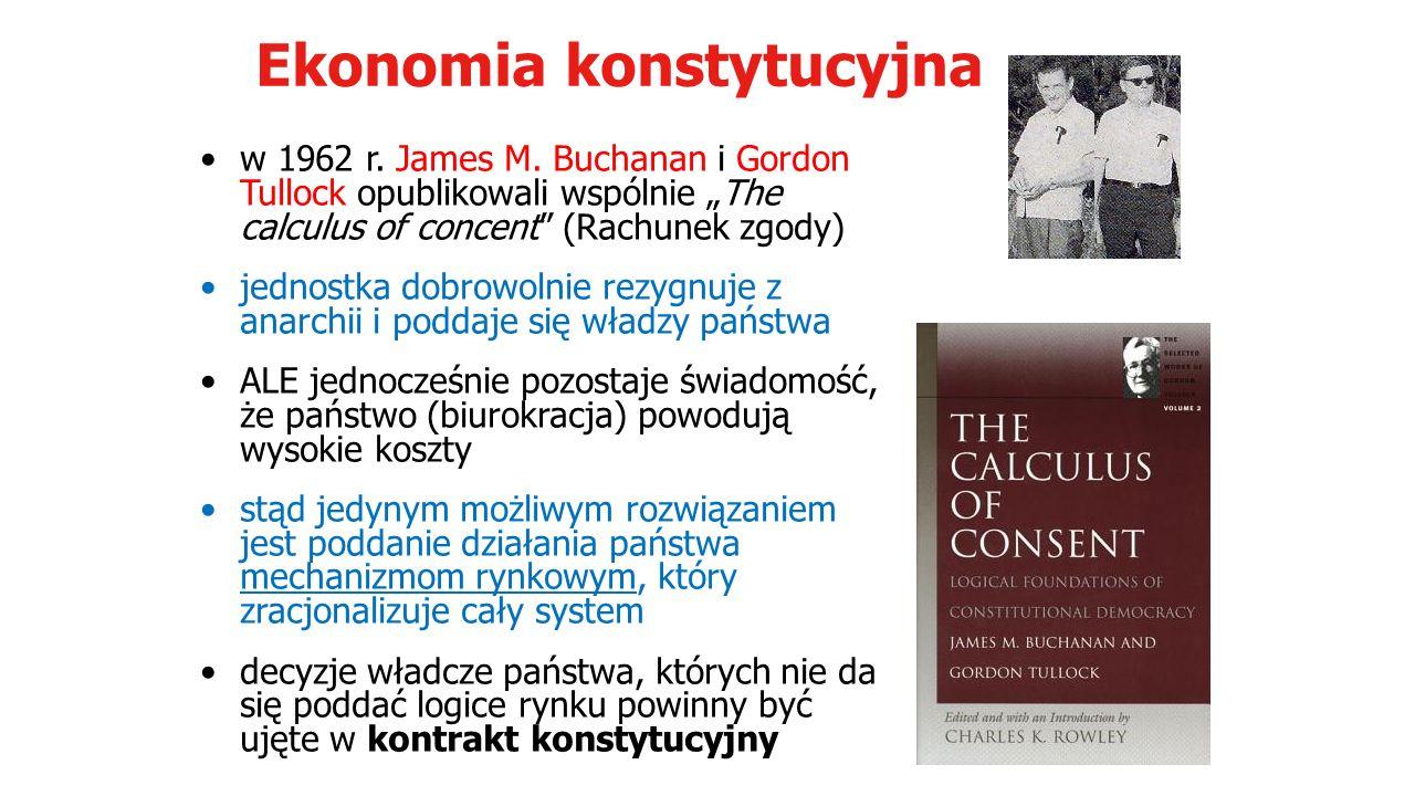 Ekonomia konstytucyjna w 1962 r. James M.