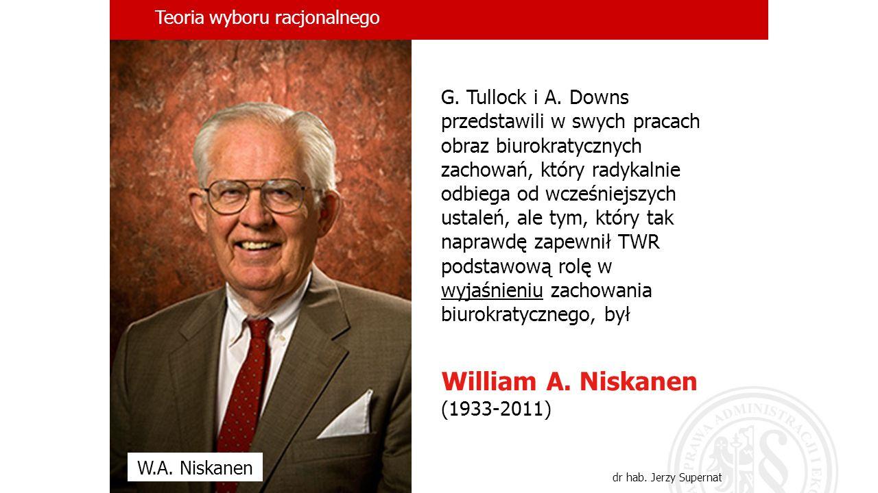 Teoria wyboru racjonalnego dr hab. Jerzy Supernat G.
