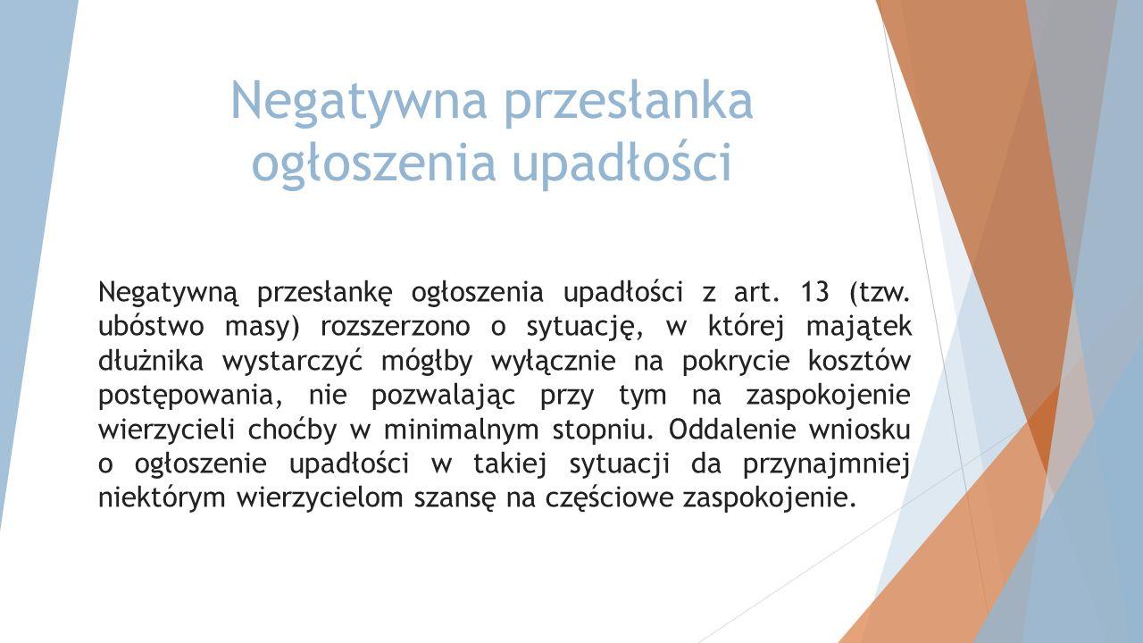 Układ częściowy będzie on mógł zostać przyjęty i zatwierdzony wyłącznie w postępowaniu o zatwierdzenie układu albo w przyspieszonym postępowaniu układowym (art.
