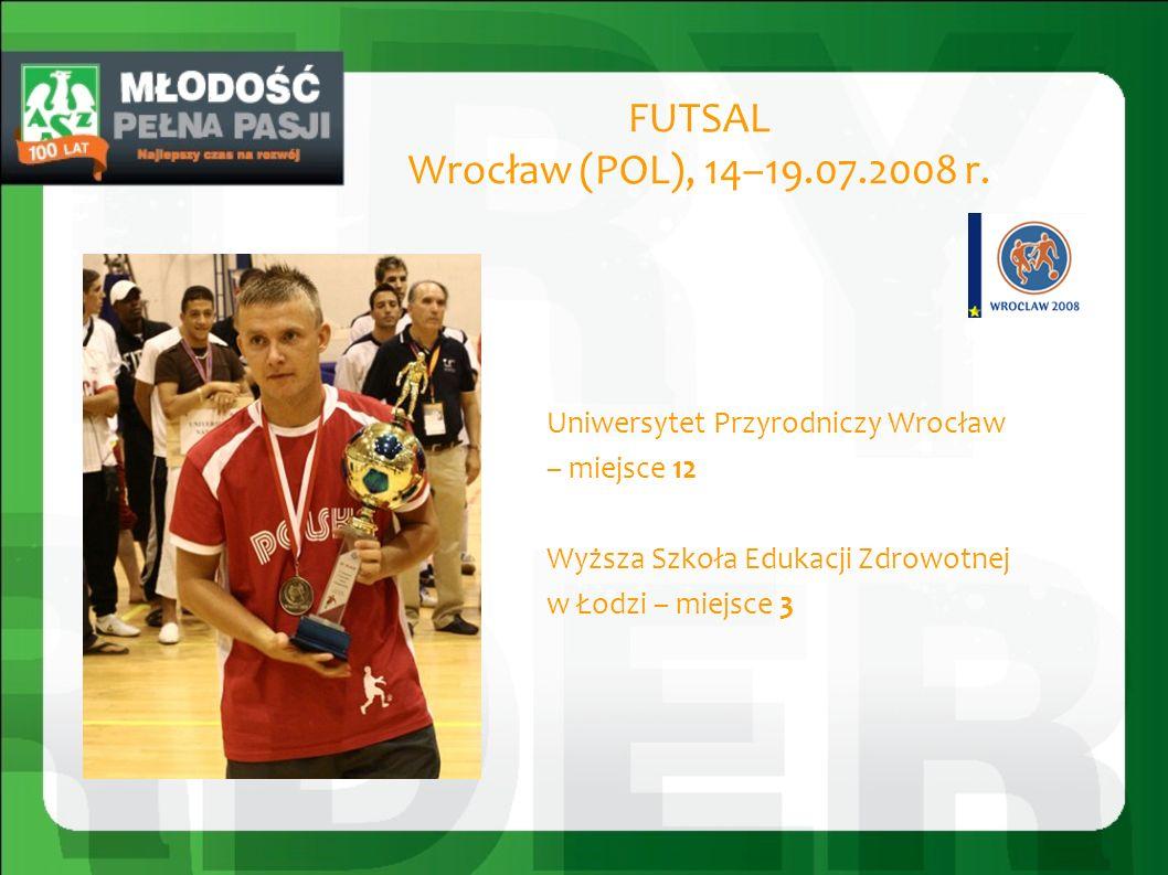 PIŁKA RĘCZNA Nis (SRB), 14 – 20.07.2008 r.