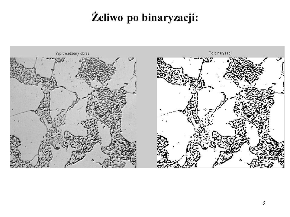 3 Żeliwo po binaryzacji: