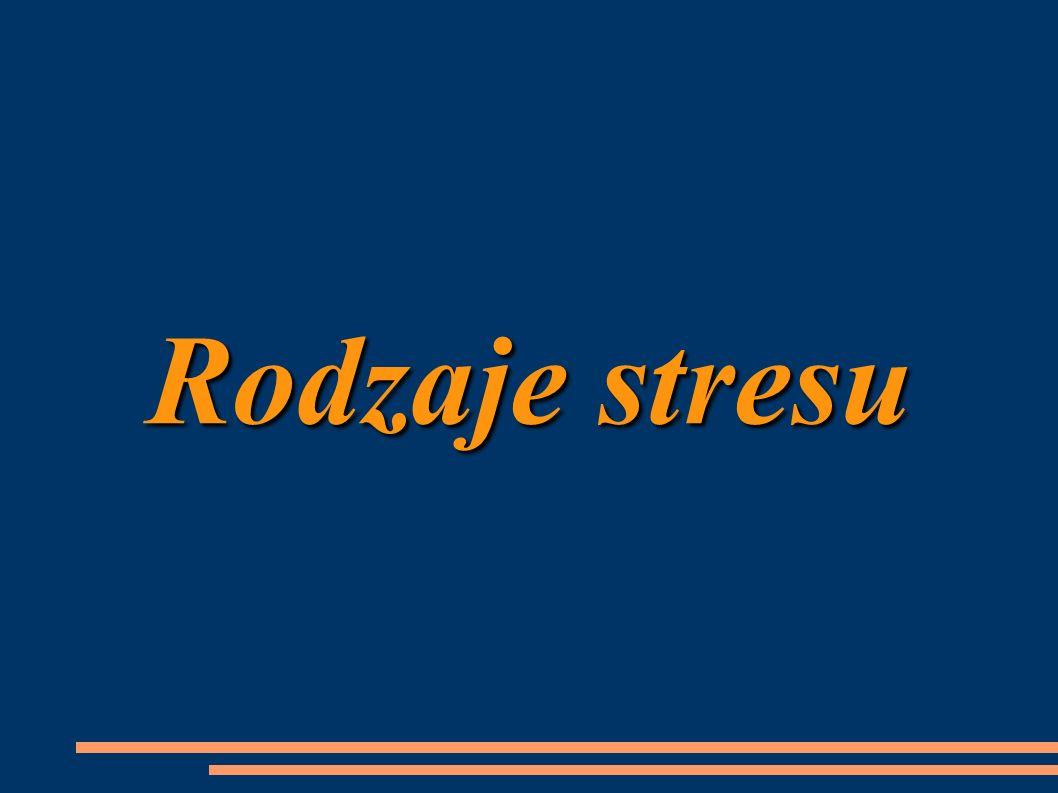 Stres psychiczny stres psychiczny – wywołany przez silny bodziec zewnętrzny i/lub wewnętrzny, prowadzący do wzrostu napięcia emocjonalnego i ogólnej mobilizacji sił organizmu, mogący przy długotrwałym działaniu doprowadzić do zaburzeń w funkcjonowaniu organizmu, wyczerpania i chorób psychosomatycznych.