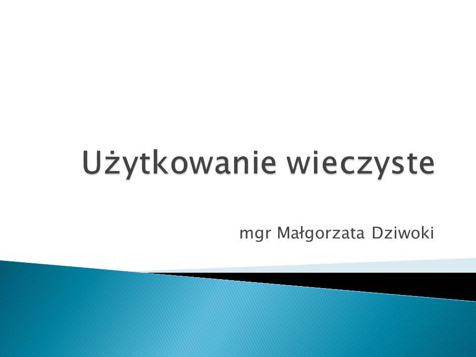 mgr Małgorzata Dziwoki