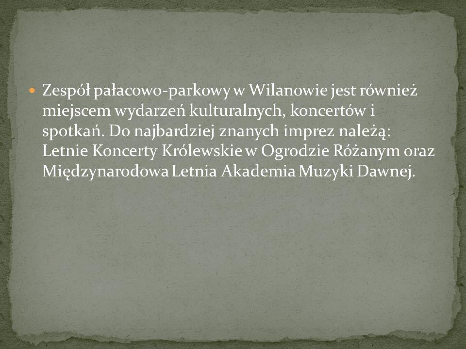 Historia pałacu w Wilanowie zaczyna się 23 kwietnia 1677 roku, kiedy to wioska zwana jeszcze Milanów stała się własnością Jana III Sobieskiego.