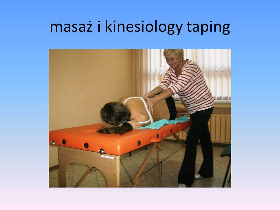 masaż i kinesiology taping