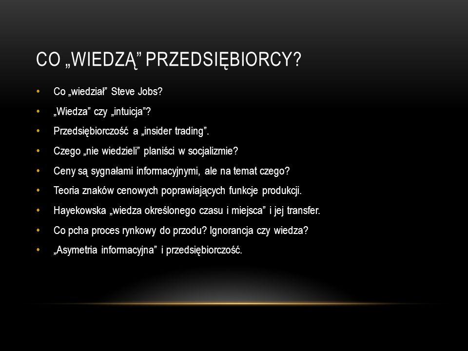 PROBLEMY ETYCZNE PRZEDSIĘBIORCZOŚCI Redystrybucja dochodu a produkcja.