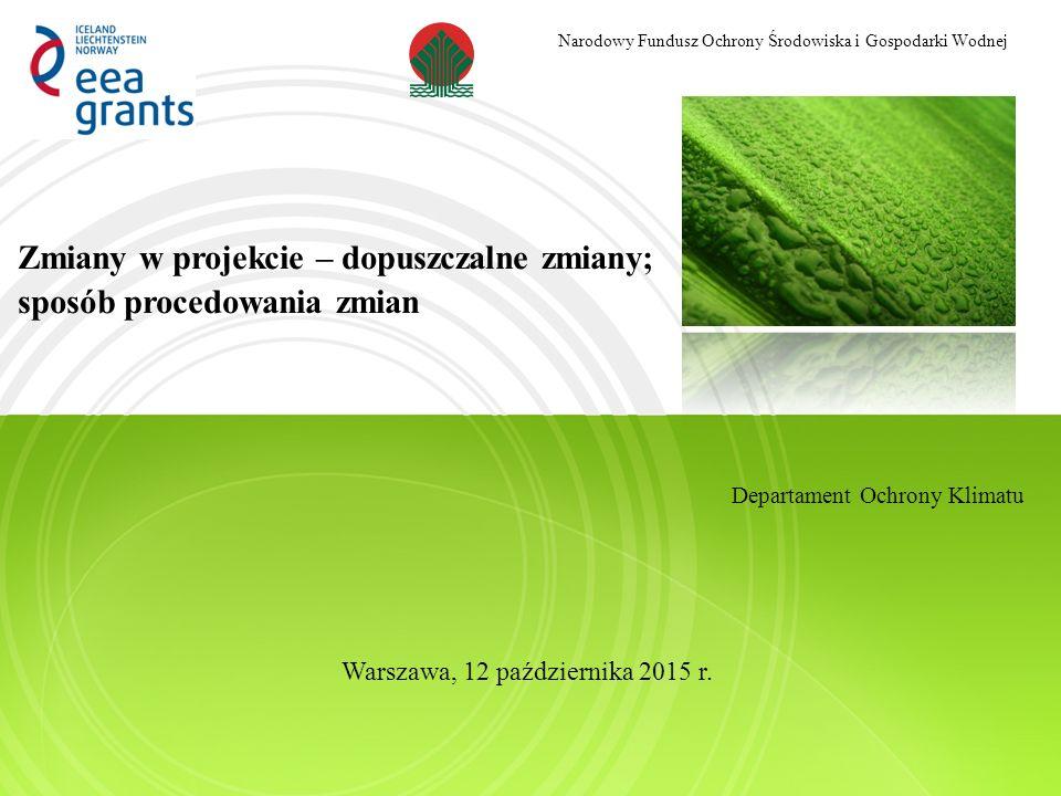 Narodowy Fundusz Ochrony Środowiska i Gospodarki Wodnej Dziękuję za uwagę Paweł Choromański Narodowy Fundusz Ochrony Środowiska i Gospodarki Wodnej
