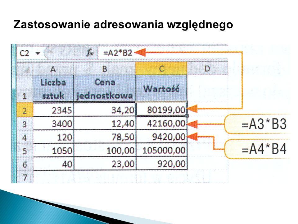 Prezentacje danych na wykresach Jednymi z bardziej istotnych obiektów, jakie możemy wstawiać do Excela, są wykresy.
