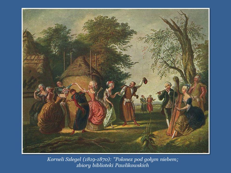 POLONEZ Pierwsze wzmianki o tańcu w rodzaju poloneza pochodzą z drugiej połowy XVI i początku XVII wieku. Pierwowzorem poloneza był taniec pieszy poch