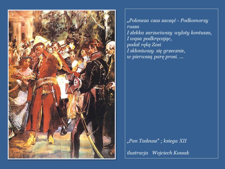 POLONEZ Pierwowzorem poloneza jest taniec ludowy zwany chodzonym. Jest to taniec korowodowy, tańczony dla okazania szacunku starszym gościom. W XVIII
