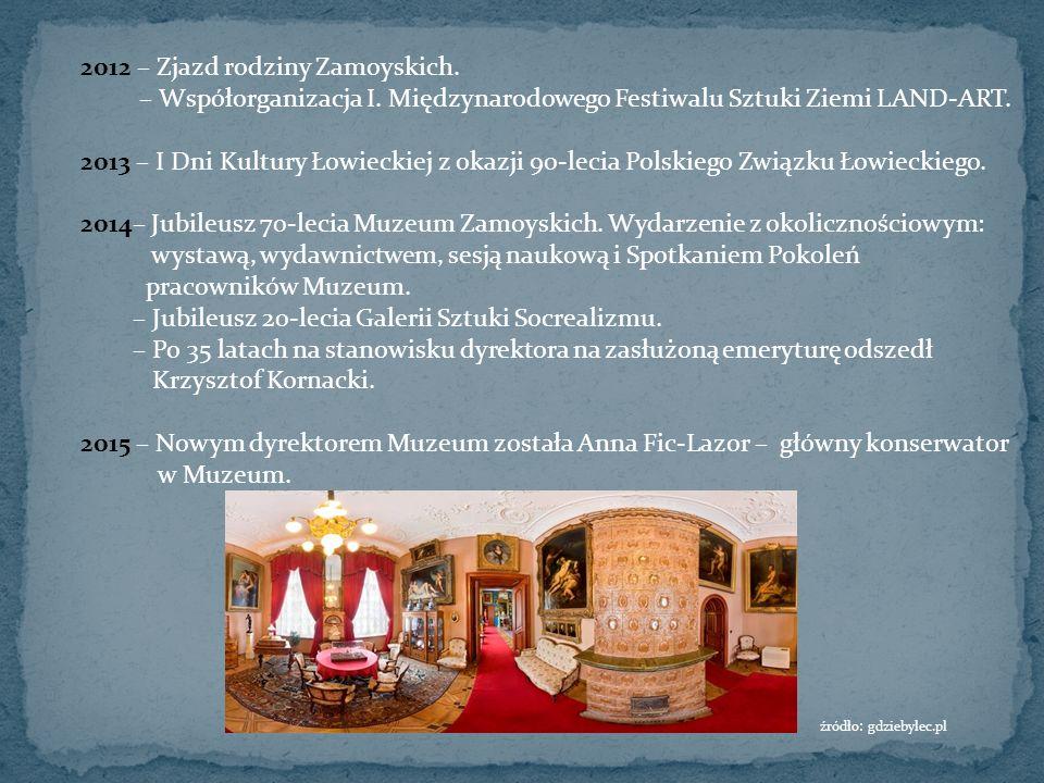 2012 – Zjazd rodziny Zamoyskich. – Współorganizacja I.