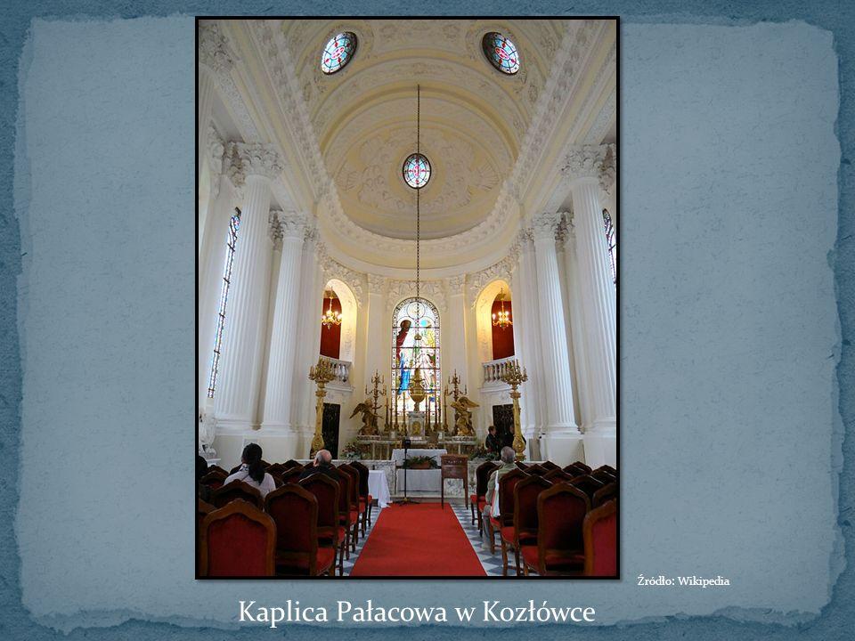 Kaplica Pałacowa w Kozłówce Źródło: Wikipedia