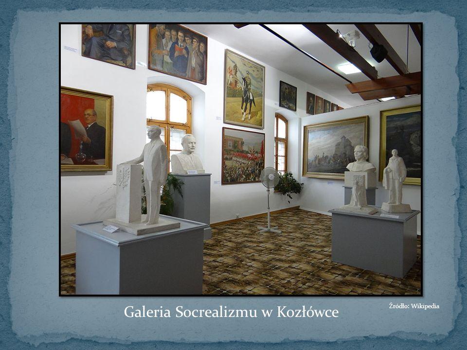 Galeria Socrealizmu w Kozłówce Źródło: Wikipedia