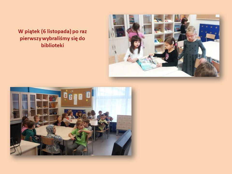 Poznaliśmy zasady korzystania z biblioteki i wykorzystaliśmy tę wiedzę w praktyce – wypożyczyliśmy książki do domu.