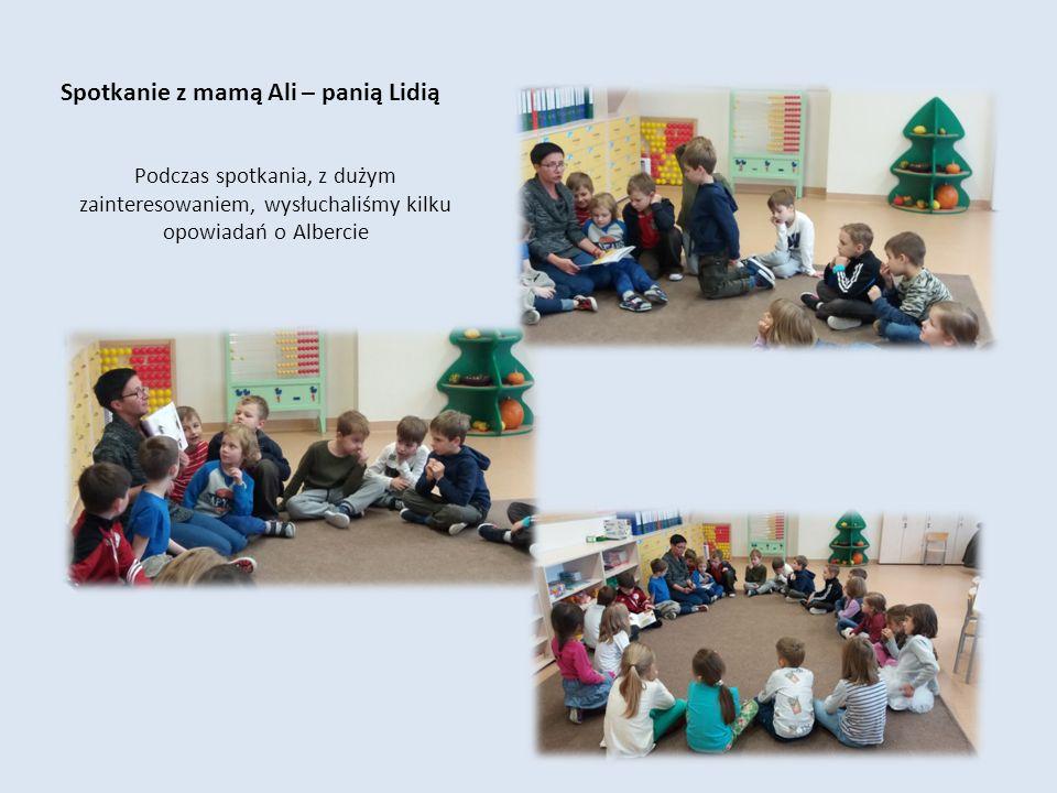 Kalinka Oliwia A to nasze prace przedstawiające Alberta i jego rodzinę Kamilka