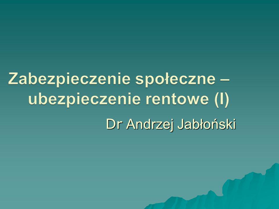 Dr Andrzej Jabłoński