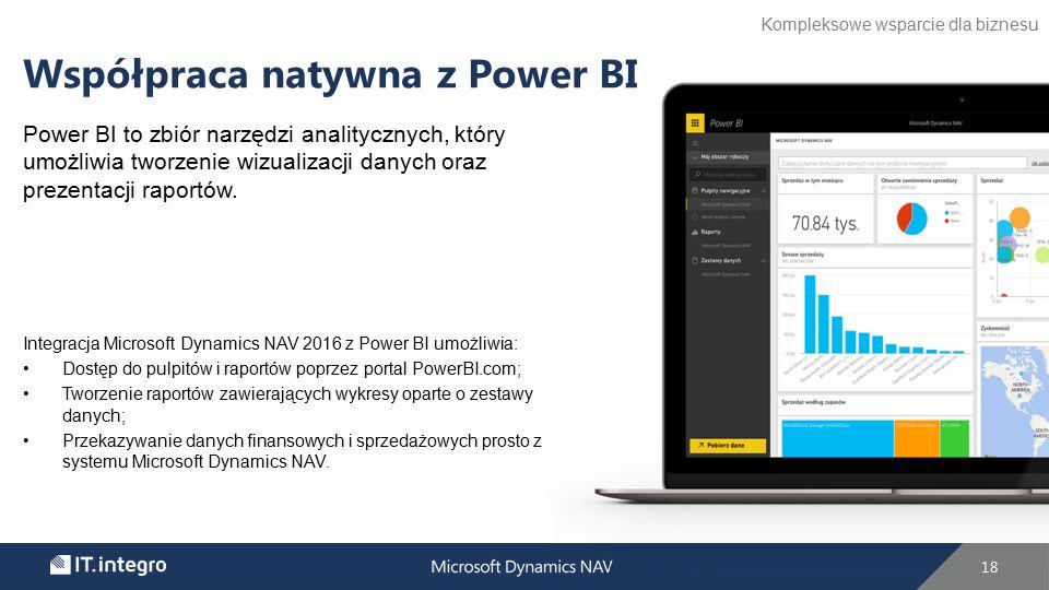 Power BI to zbiór narzędzi analitycznych, który umożliwia tworzenie wizualizacji danych oraz prezentacji raportów.