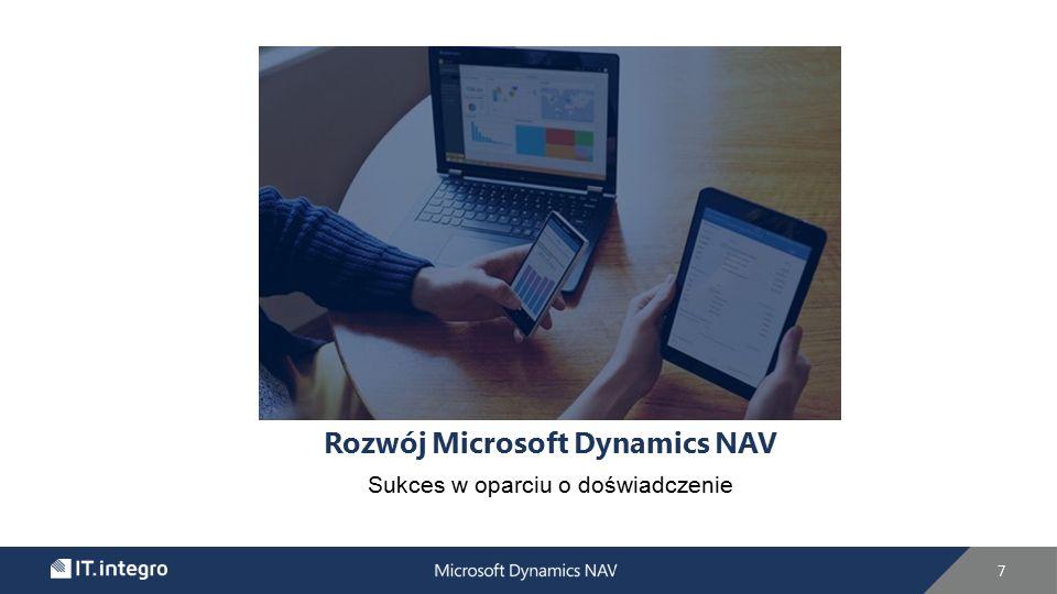 Rozwój Microsoft Dynamics NAV Sukces w oparciu o doświadczenie 7