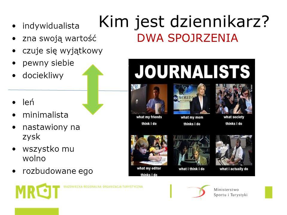 Kim jest dziennikarz.