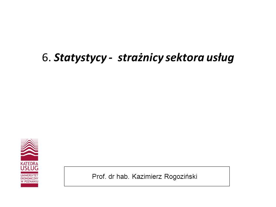 Część II Podstawy alternatywnej teorii usług Prof. dr hab. Kazimierz Rogoziński