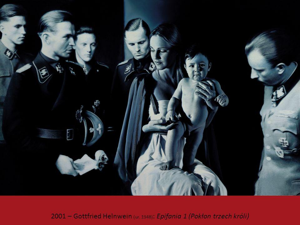 2001 – Gottfried Helnwein (ur. 1948) : Epifania 1 (Pokłon trzech króli)