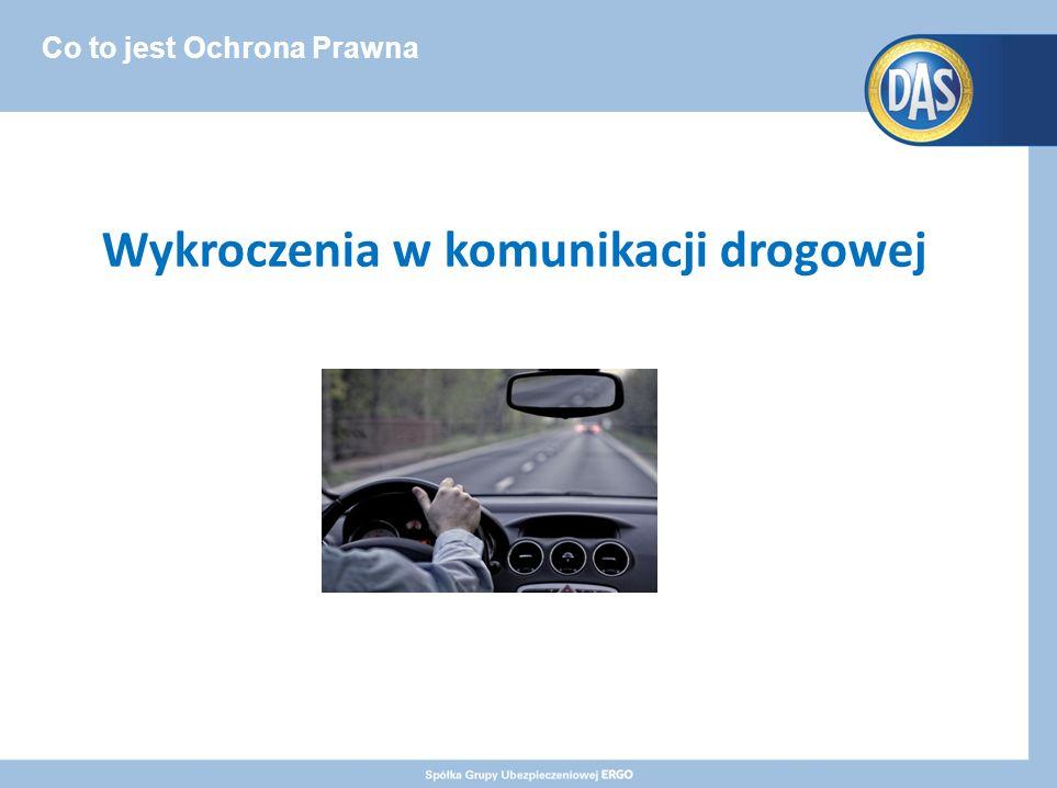 Co to jest Ochrona Prawna Wykroczenia w komunikacji drogowej