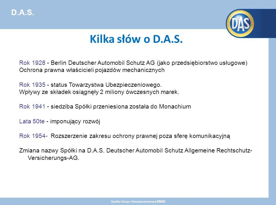 D.A.S. Kilka słów o D.A.S.