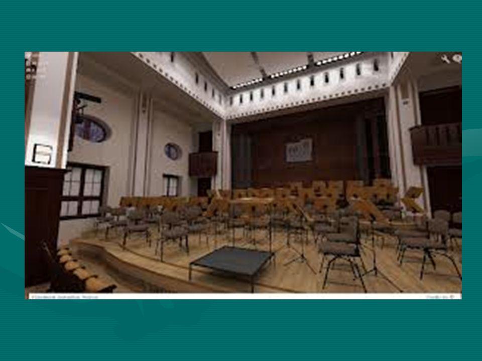 Godna uwagi jest sama siedziba Filharmonii Zabrzańskiej, którą zajmuje ona od 2010 r.