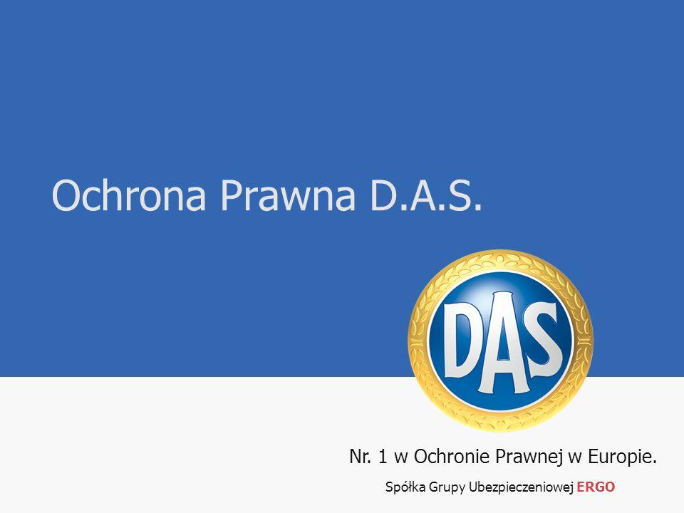 Nr. 1 w Ochronie Prawnej w Europie. Spółka Grupy Ubezpieczeniowej ERGO Ochrona Prawna D.A.S.