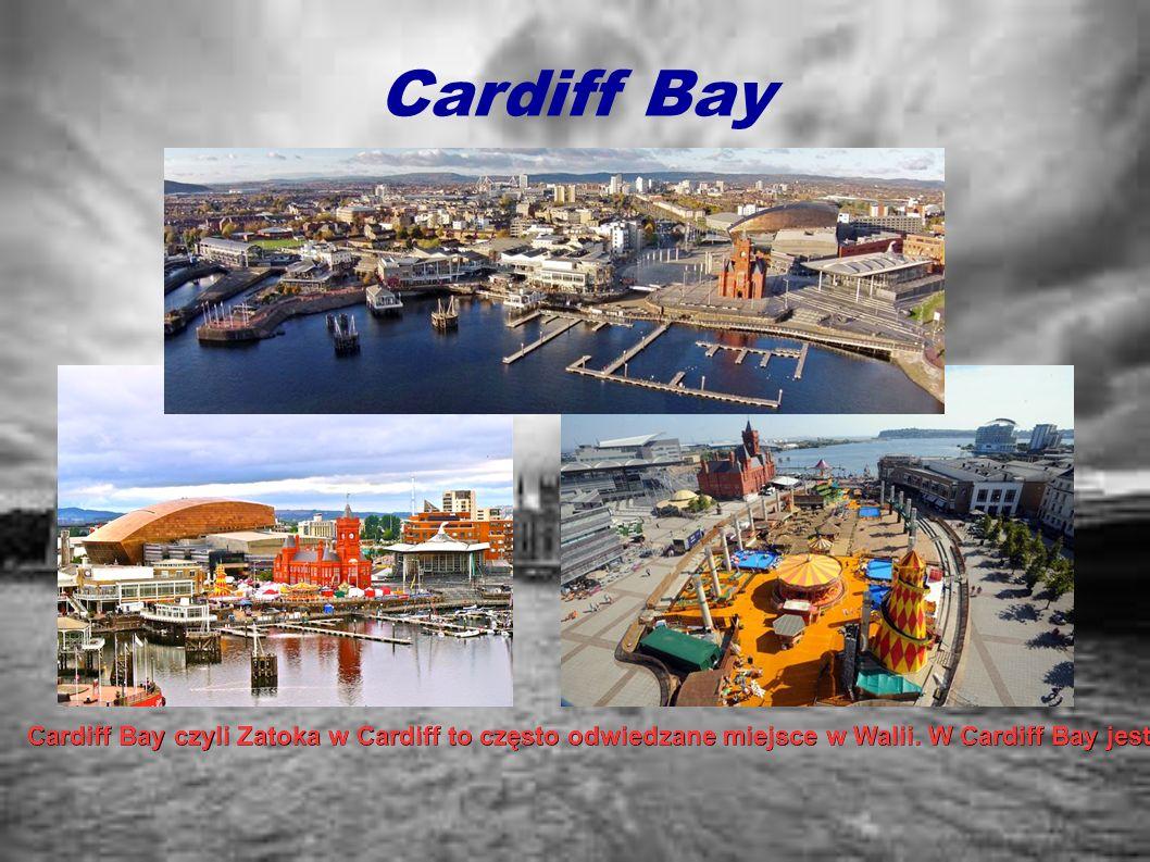 Cardiff Bay Cardiff Bay czyli Zatoka w Cardiff to często odwiedzane miejsce w Walii. W Cardiff Bay jest wiele atrakcji, które sprawiają że miejsce nie