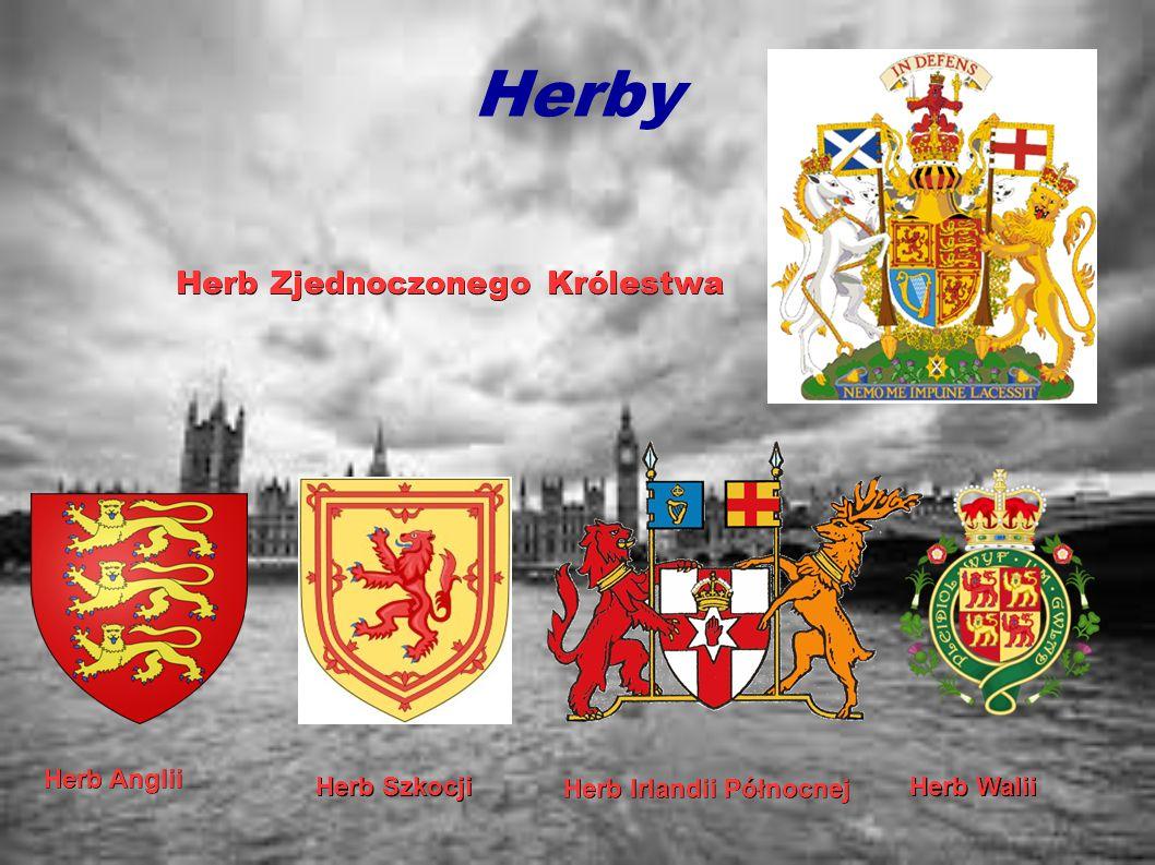 Herby Herb Anglii Herb Szkocji Herb Irlandii Północnej Herb Walii Herb Zjednoczonego Królestwa