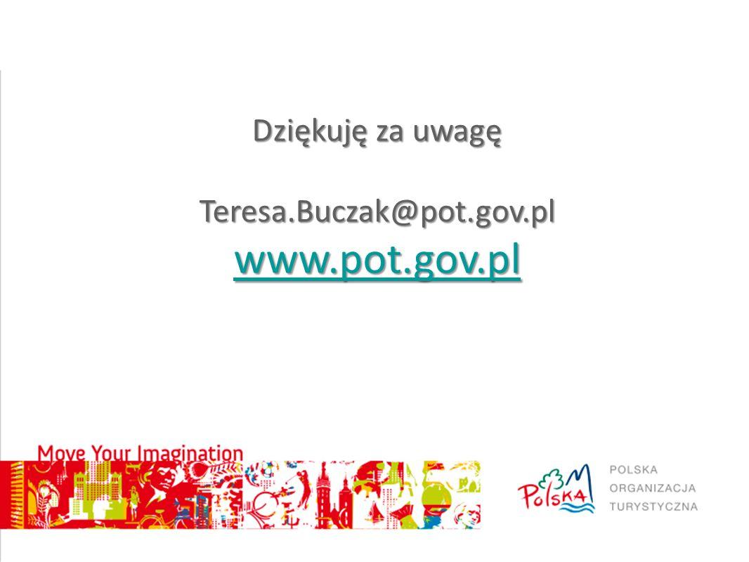 Dziękuję za uwagę Teresa.Buczak@pot.gov.pl www.pot.gov.pl